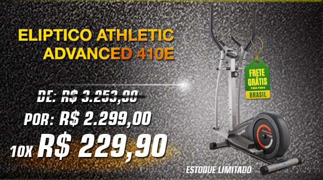 Elíptico Athletic Advanced 410E