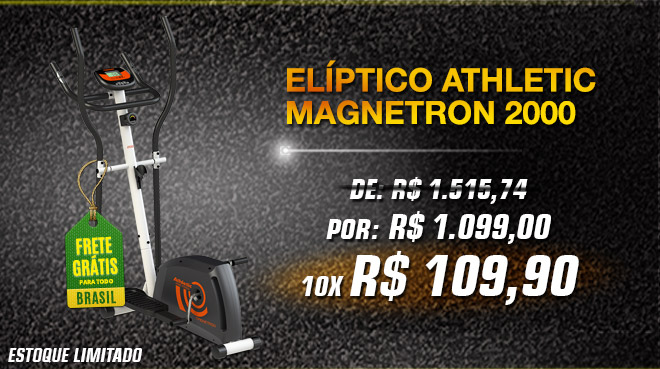 Elíptico Athletic Magnetron 2000
